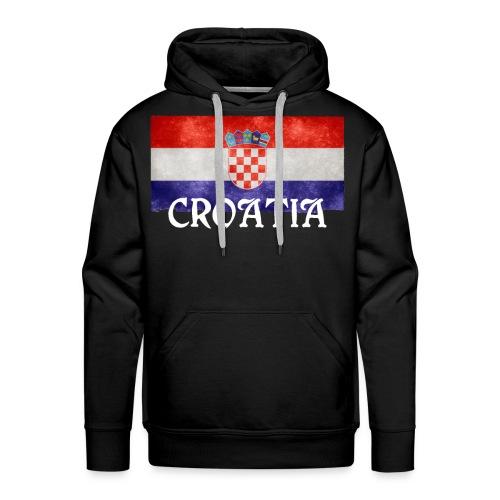 I Love Croatia - Männer Premium Hoodie