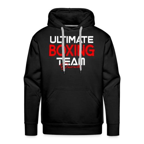 Ultimate Boxing Schwarz - Männer Premium Hoodie