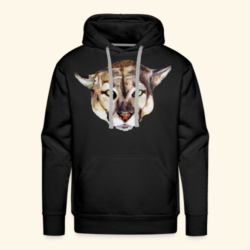 Artistic wild animal - Men's Premium Hoodie