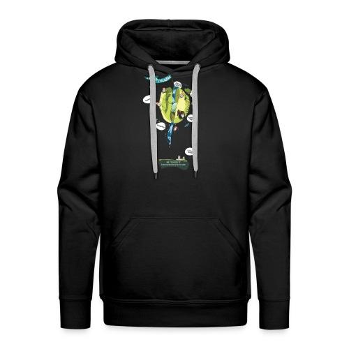 T-shirt Maison de L'aventure - Sweat-shirt à capuche Premium pour hommes