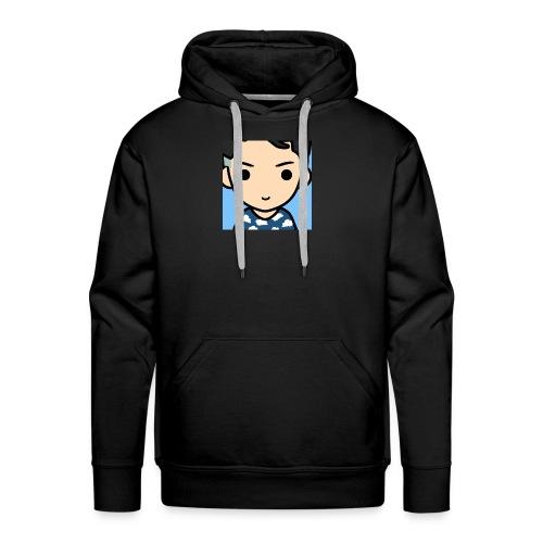 Mon logo oklm je vous le vend trankillle - Sweat-shirt à capuche Premium pour hommes