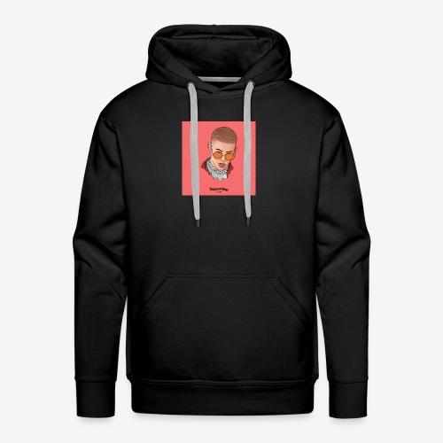 Bunny - Sudadera con capucha premium para hombre