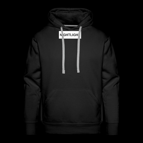 NIGHTLIGHT BOX LOGO (DAY) - Men's Premium Hoodie