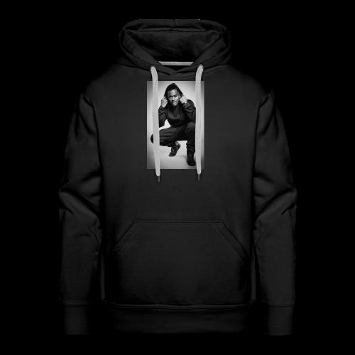 Black M - Sweat-shirt à capuche Premium pour hommes