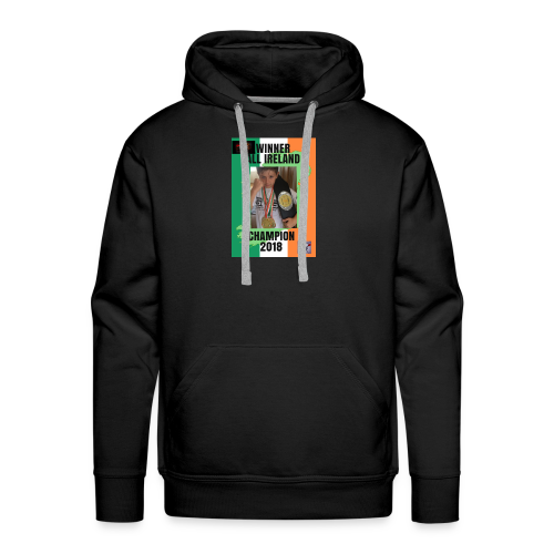 ANT THE CHAMP with 2018 winning belt - Men's Premium Hoodie