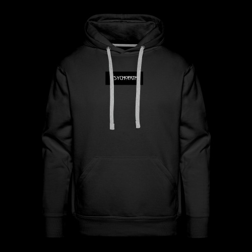 PSYCHOPATH - Bluza męska Premium z kapturem