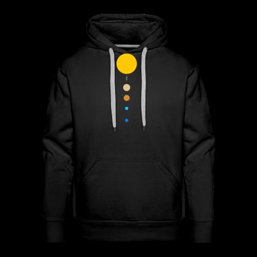 Sonnensystem - Männer Premium Hoodie