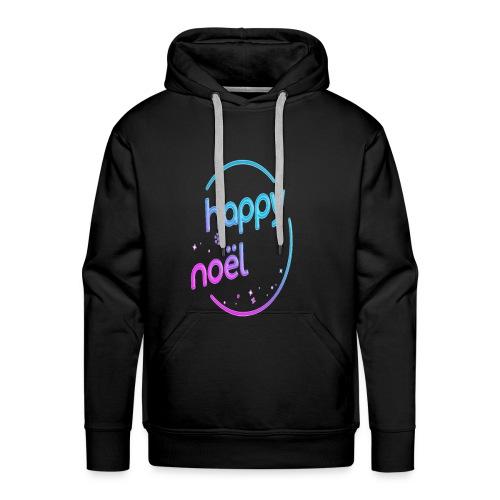 happy noel - Sweat-shirt à capuche Premium pour hommes