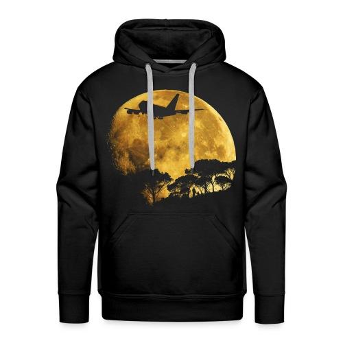 full moon - Men's Premium Hoodie