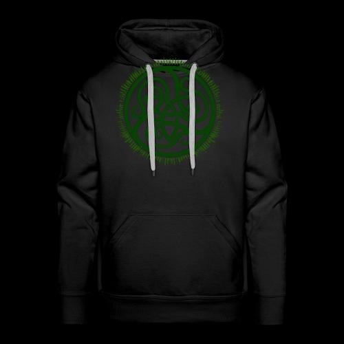 Green Celtic Triknot - Men's Premium Hoodie