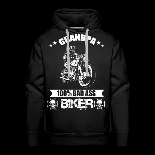 Motorrad Opa Geschenk T-Shirt - Männer Premium Hoodie