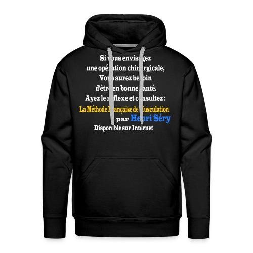 LMF Chirurgie v2 - Sweat-shirt à capuche Premium pour hommes