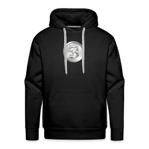 Burst Silver - Mannen Premium hoodie