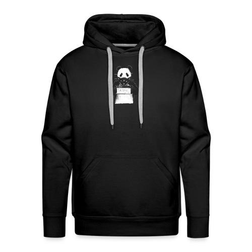 Panda in Knast - Männer Premium Hoodie