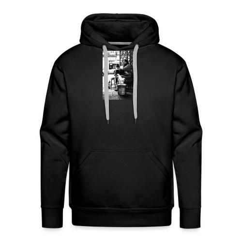 Straßen Musiker - Männer Premium Hoodie