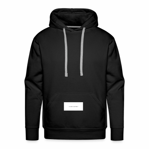 Think about things differently - Männer Premium Hoodie
