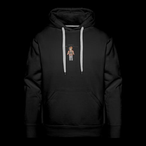 Free Alexia Design (Transparent) - Men's Premium Hoodie