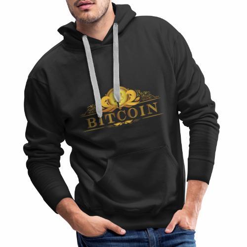 Bitcoin Label #3 - Männer Premium Hoodie