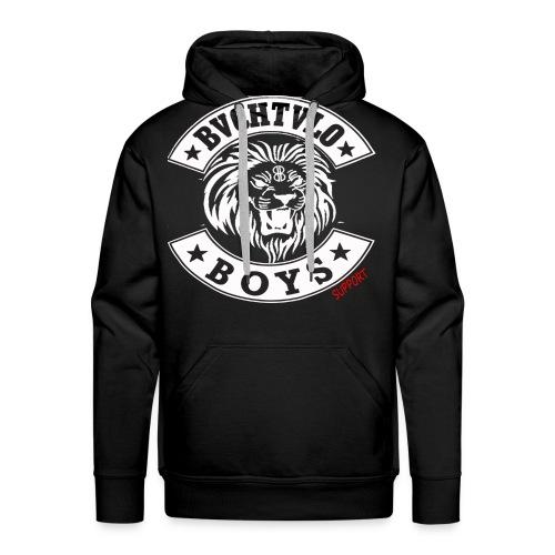 bachtalo boys logo weiss - Männer Premium Hoodie