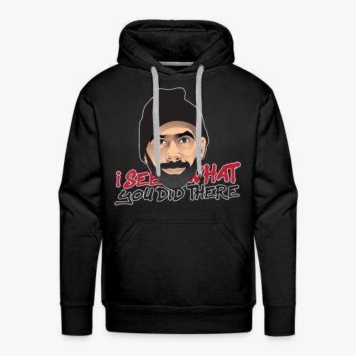 DJ flipout Red to black - Sweat-shirt à capuche Premium pour hommes