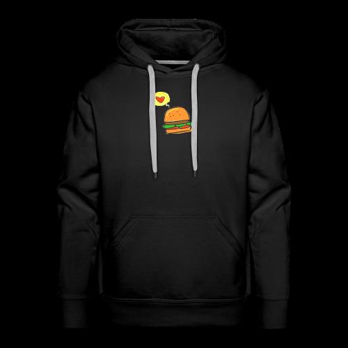 Love Burger - Männer Premium Hoodie