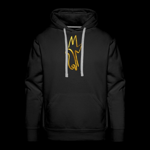 Gold Meemiphes Logo - Miesten premium-huppari