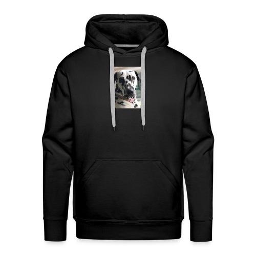 Dalmatian Daisy Dog - Men's Premium Hoodie