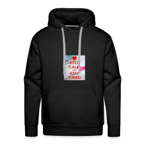 keep calm and stay tuned merchandise - Mannen Premium hoodie