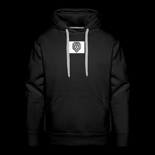 lion logo - Sweat-shirt à capuche Premium pour hommes
