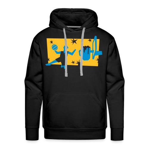 Biersketball Shirts Square - Männer Premium Hoodie