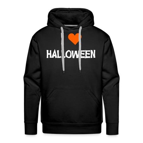 I <3 HALLOWEEN - Männer Premium Hoodie