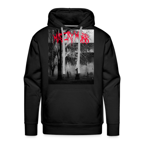 Misery Mobb Bonner at Cemetery - Men's Premium Hoodie