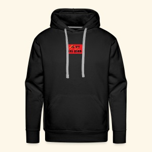 Is my the boss - Sweat-shirt à capuche Premium pour hommes
