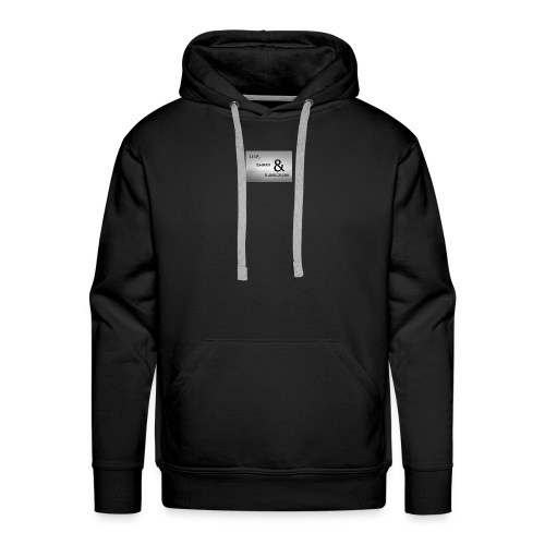 like & SHARE - Men's Premium Hoodie