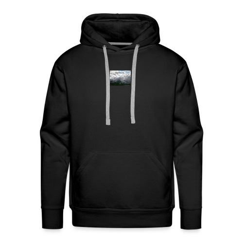 mountains - Men's Premium Hoodie