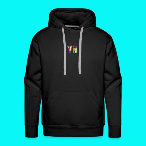 Velocity Networks Coloured Logo! - Men's Premium Hoodie