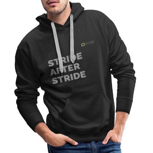 STRIDE after stride - Men's Premium Hoodie