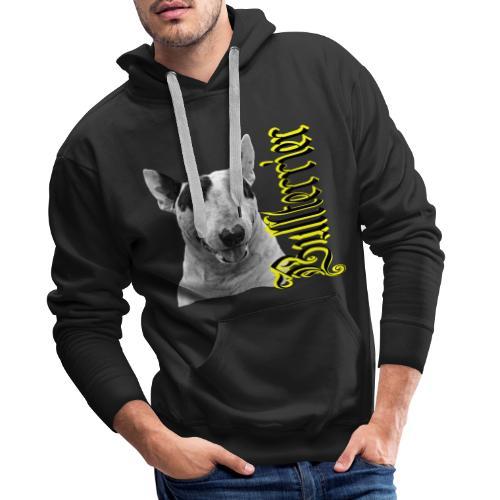 Bullterrier,Bulldog,Bulldogge,Hundekopf,Terrier, - Männer Premium Hoodie