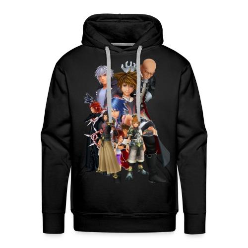 Kingdom Hearts Design (WjkoenhdindustrieS) - Men's Premium Hoodie