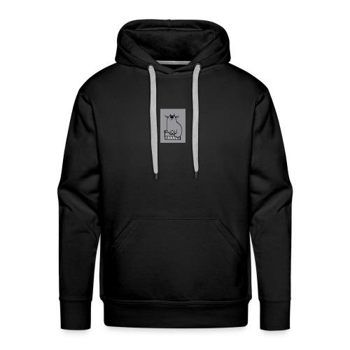Chat-loup - Sweat-shirt à capuche Premium pour hommes