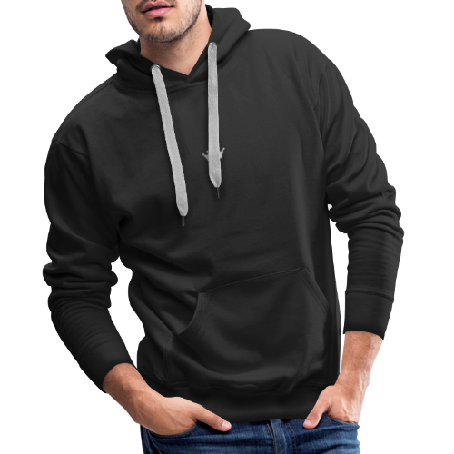 SILVER CROWN - Bluza męska Premium z kapturem