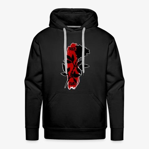 BLACK ROSE - Sweat-shirt à capuche Premium pour hommes