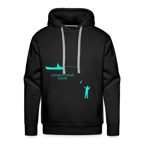 SATURDAY NIGHT FISHER - Sweat-shirt à capuche Premium pour hommes