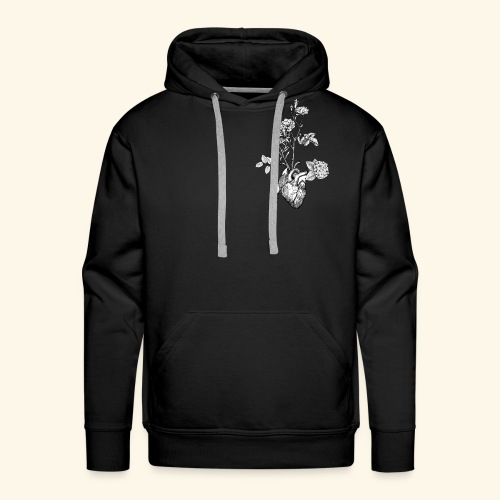 Flower Heart - Männer Premium Hoodie