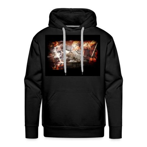 Archange Saint-Michel - Sweat-shirt à capuche Premium pour hommes