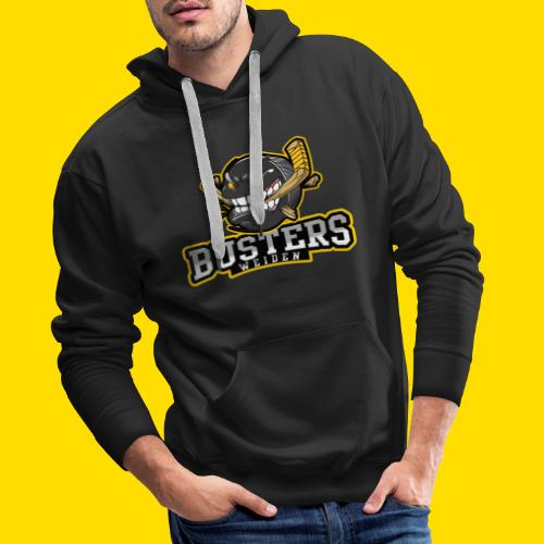 Busters Fun Shirt - ANGRY PUCK - Männer Premium Hoodie