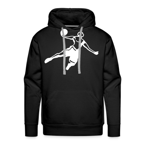 Basketball Dunk Player - Männer Premium Hoodie