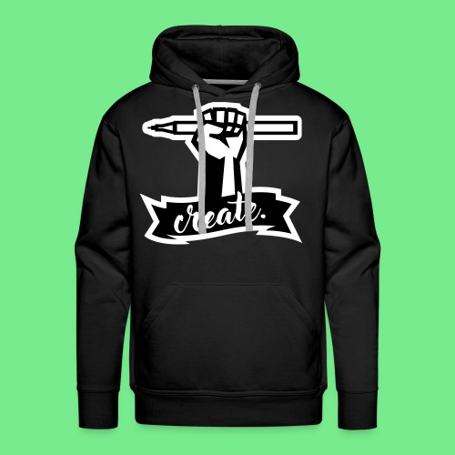 Create. - Men's Premium Hoodie