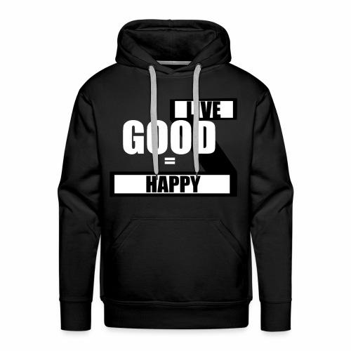 Live good - Herre Premium hættetrøje