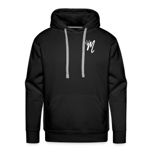 ItzManzey (BLACK TOPS AND HOODIES) - Men's Premium Hoodie